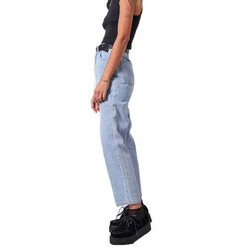 AFENDS Shelby Denim High Waist Jeans Stone Blue