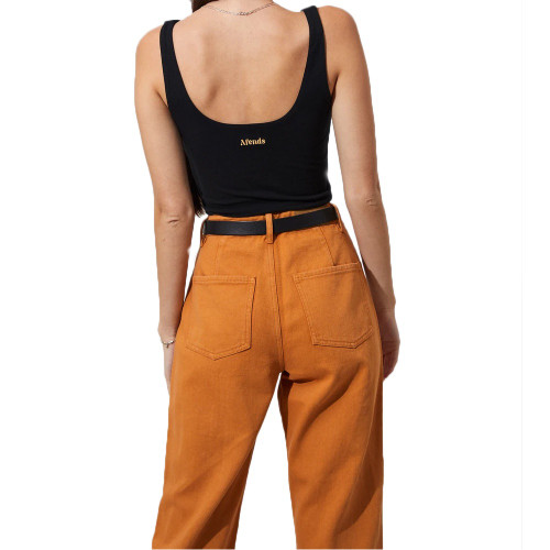 AFENDS Shelby Twill High Waist Jeans Mango