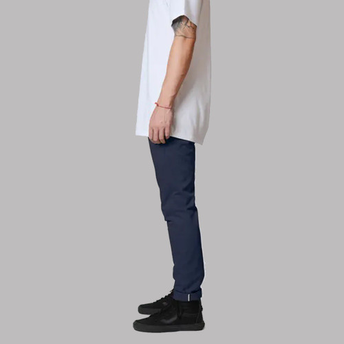 DICKIES 811 Skinny Double Knee Work Pants Dark Navy