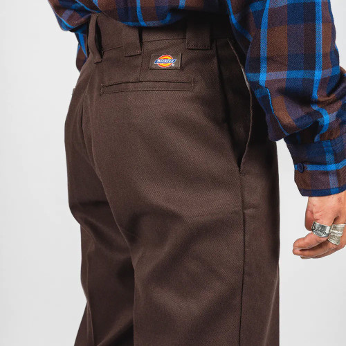 DICKIES Original 874 Traditional Mens Work Pants Dark Brown