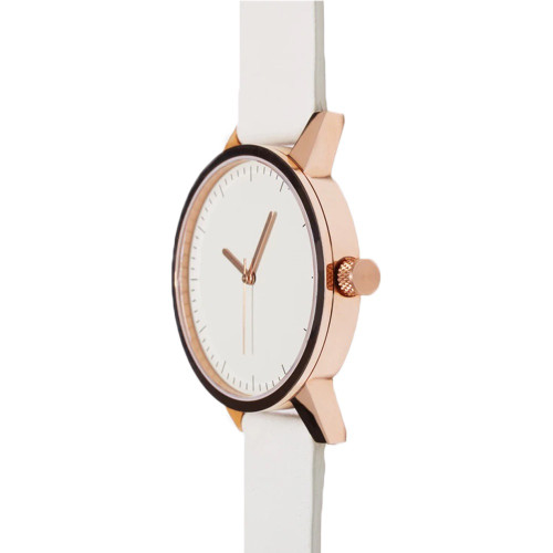 SIMPLE WATCH CO Kent Watch 38mm Gold/White