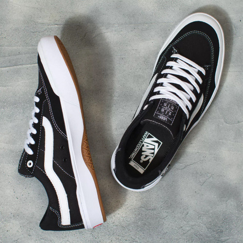 VANS Berle Pro Shoes Black/True White