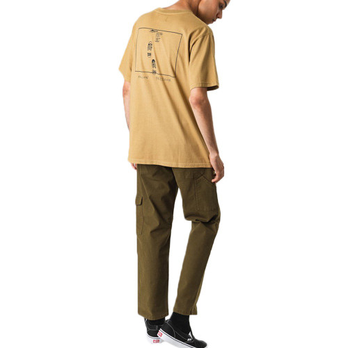 AFENDS Freedom Retro Fit Tee Tannin