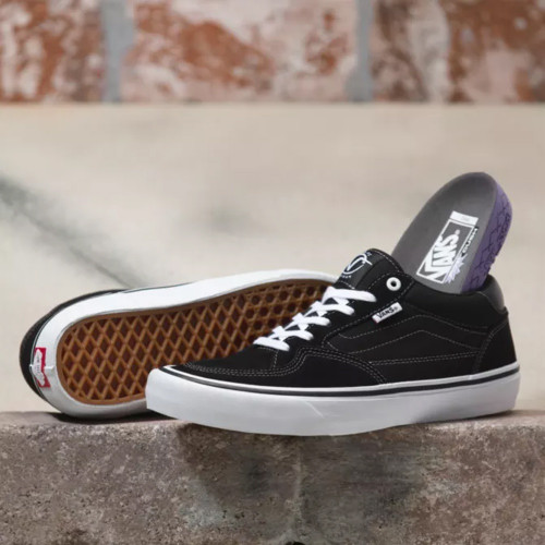 VANS Rowan Pro Shoes Black/White
