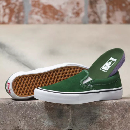 VANS Slip-On Pro Shoes Alpine/White