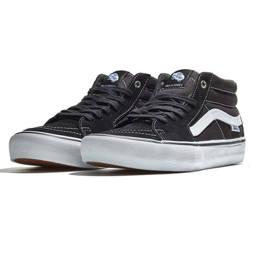 VANS Sk8-Mid Pro Shoes Black/White
