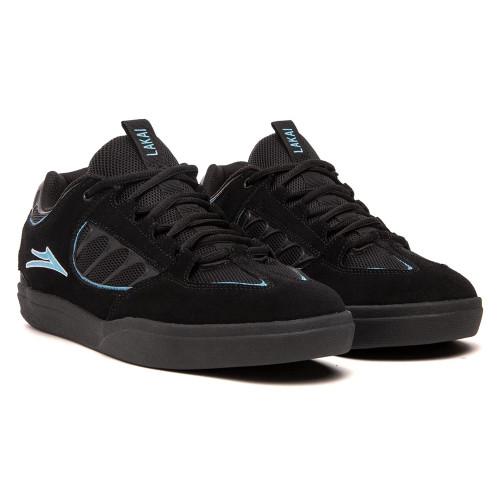 LAKAI Carroll Shoes Black Suede