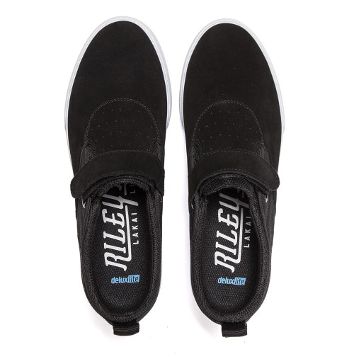 LAKAI Riley 2 Shoes Black Suede