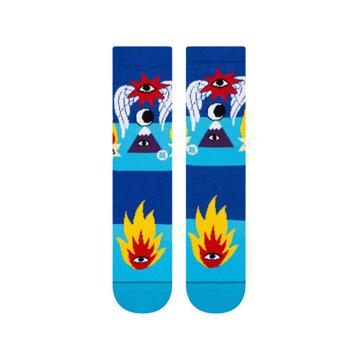 STANCE Cavolo Shooting Star Socks Blue