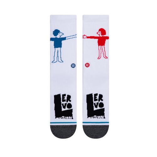 STANCE Lover Socks White