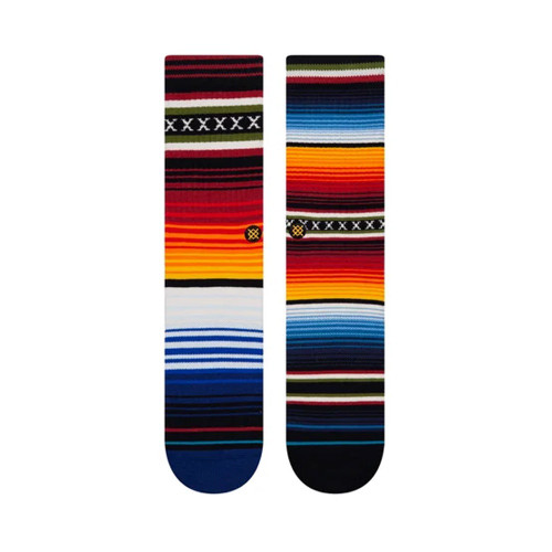 STANCE Curren St Crew Socks Red