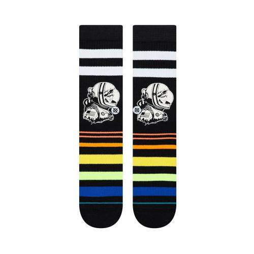 STANCE Moon Man Socks Black