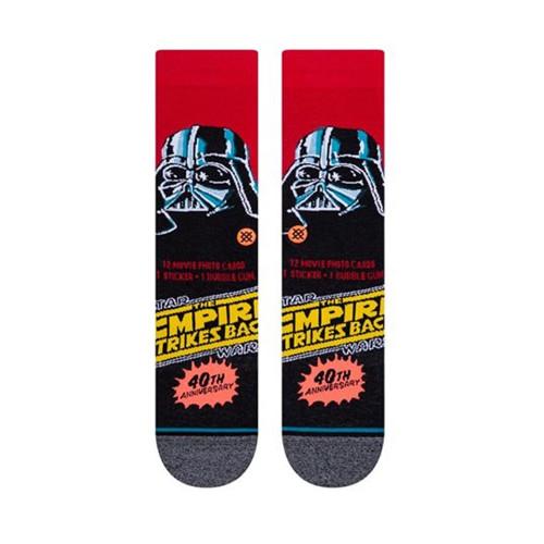 STANCE x STAR WARS Vader 40th Socks Red