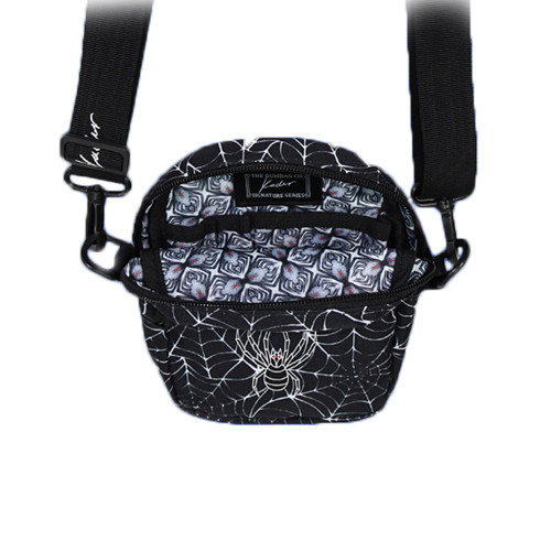 THE BUMBAG CO Kader Sylla Compact Shoulder Bag Black