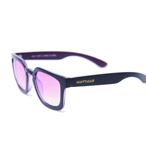 HAPPY HOUR Dollin Wolf Pup Shades Black Purple