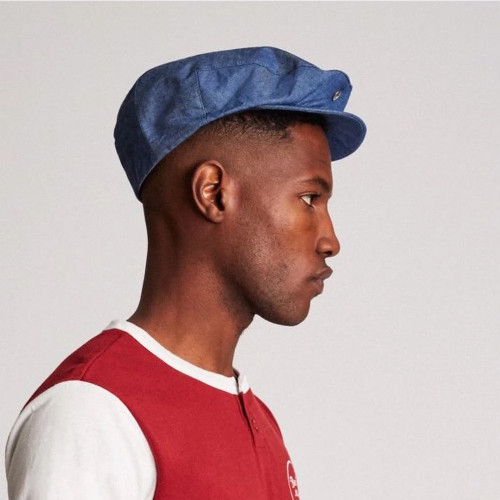 BRIXTON Hooligan Snap Cap Blue Chambray