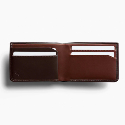 BELLROY Low Down Leather Wallet Java