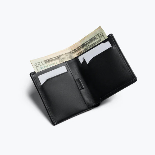 BELLROY Note Sleeve RFID Leather Wallet Black