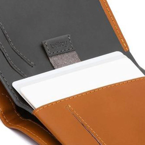 BELLROY Note Sleeve RFID Leather Wallet Caramel