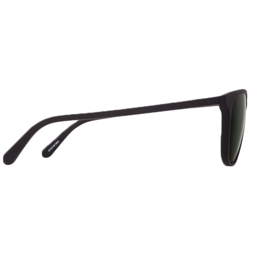 SPY Cameo Sunglasses Soft Matte Black w/ Happy Grey Green Lenses