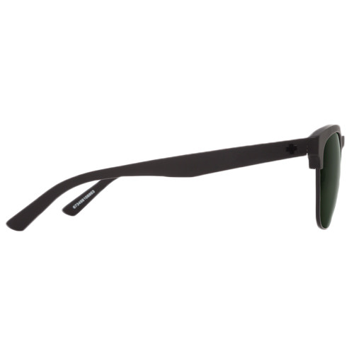 SPY Loma Sunglasses Matte Black Black w/ Happy Grey Green Lenses
