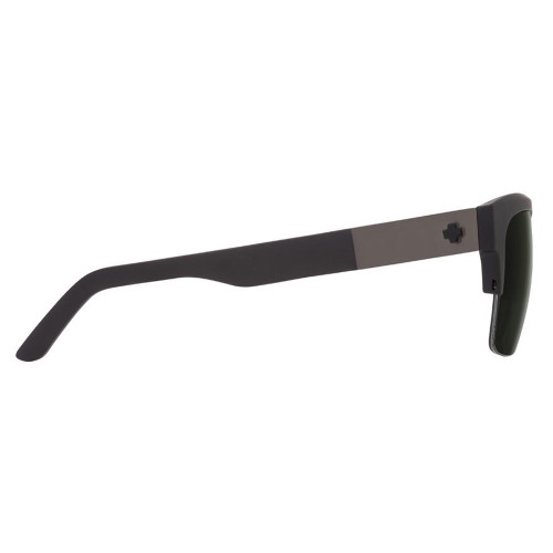 SPY Malcolm Sunglasses Matte Black w/ Happy Grey Green Lenses