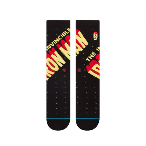 STANCE X MARVEL Invincible Iron Man Sock Black