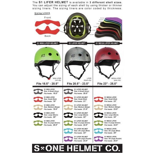 S-ONE Lifer Helmet Matte Black/Yellow Straps