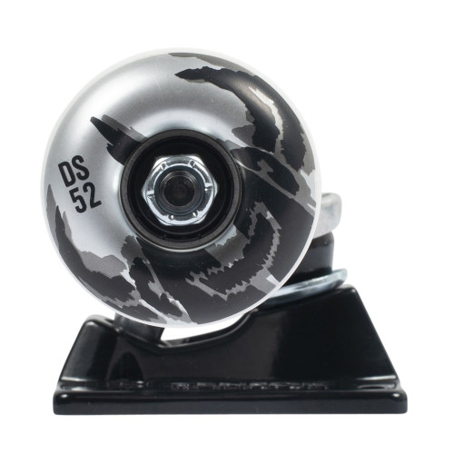 TENSOR Darkstar Dissent Truck And Wheel Combo Raw Black 5.25