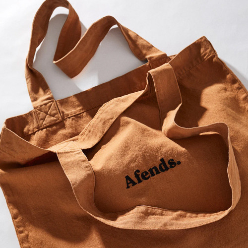 AFENDS Perch Up Tote Bag Clay