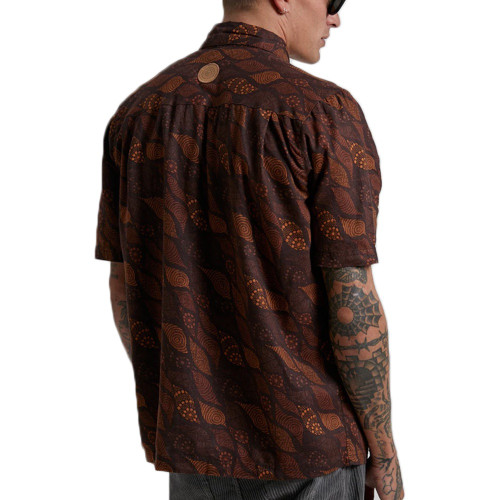 AFENDS Saltwater Dreamtime Vol 4 Hemp Shirt Multi