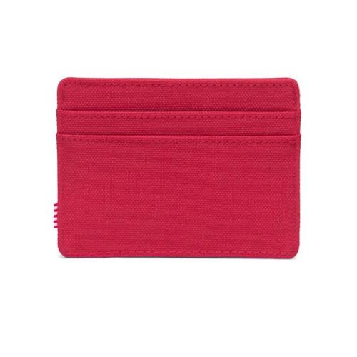 HERSCHEL Charlie Wallet RFID Red