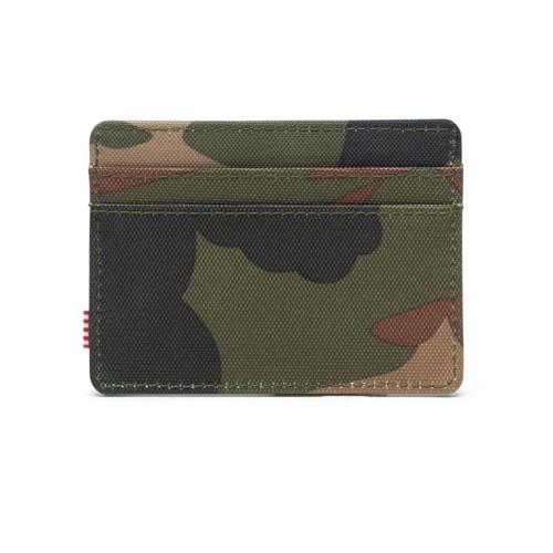 HERSCHEL Charlie Wallet RFID Woodland Camo