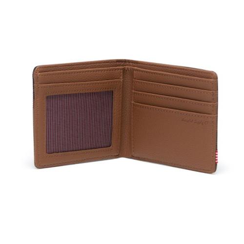 HERSCHEL Hank Wallet RFID Woodland Camo/Tan
