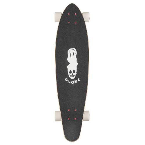 GLOBE Bells Complete Longboard Black White Red 34