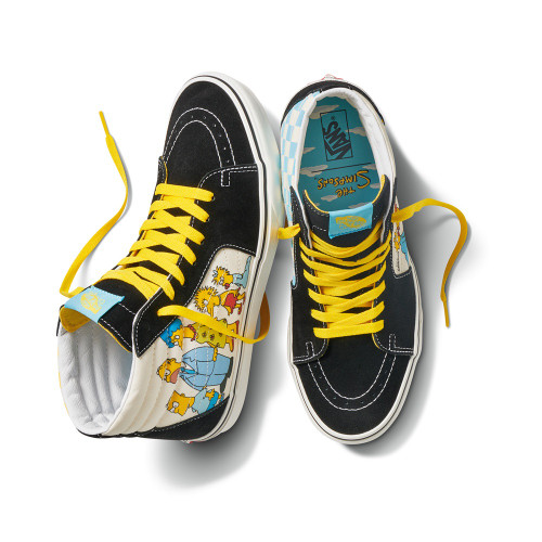 VANS X THE SIMPSONS Sk8-Hi Shoes 1987-2020