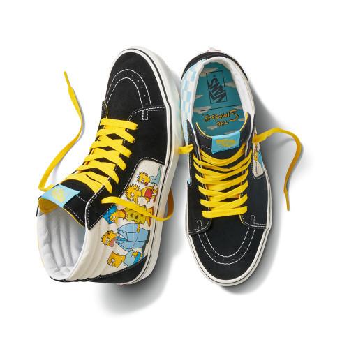 VANS X THE SIMPSONS Sk8-Hi Shoes 1987-2020
