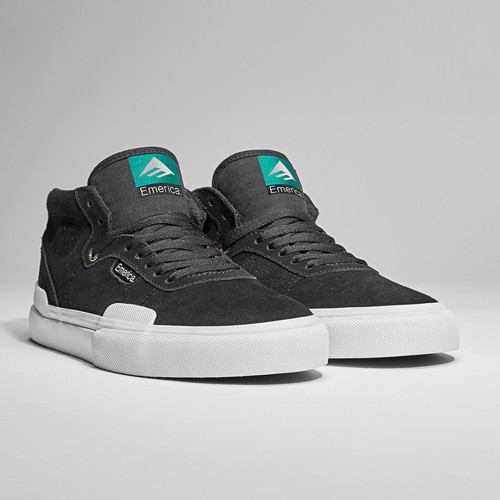 EMERICA Pillar Shoes Black/White/Gold