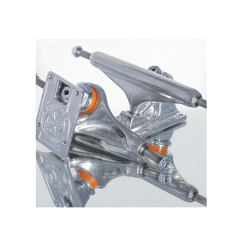 INDEPENDENT Forged Titanium Trucks Silver 129 (Pair)