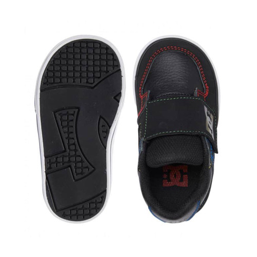 DC Pure V II Toddlers Shoes Black/Multi/White