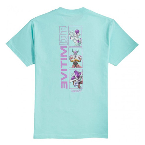 PRIMITIVE X DRAGONBALL Z Frieza Forms Tee Celadon