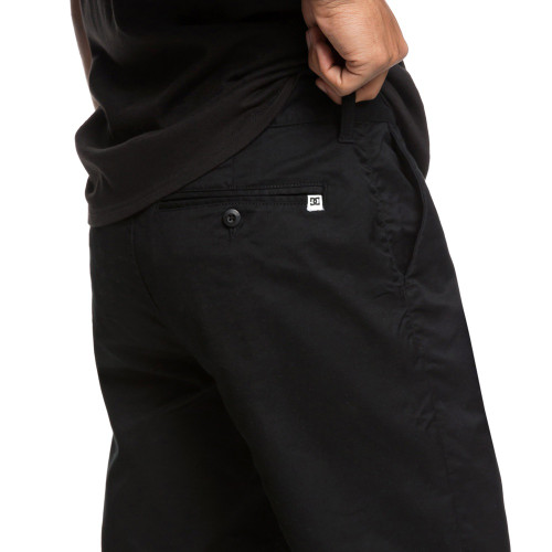 DC Worker Straight Chino Shorts Black