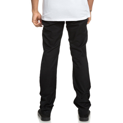 DC Straight Worker Chino Pants Black