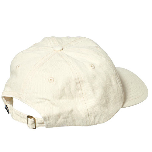 STUSSY Stock Low Pro Cap Warmed White
