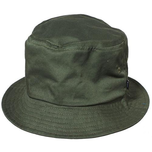 STUSSY Stock Bucket Hat Flight Green