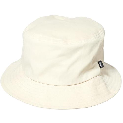 STUSSY Stock Bucket Hat Warmed White
