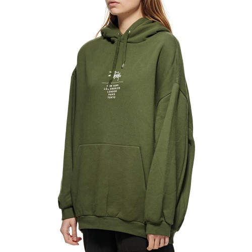 STUSSY Graffiti OS Hood Flight Green