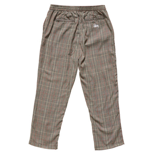 STUSSY Hound Check Street Pants Tan