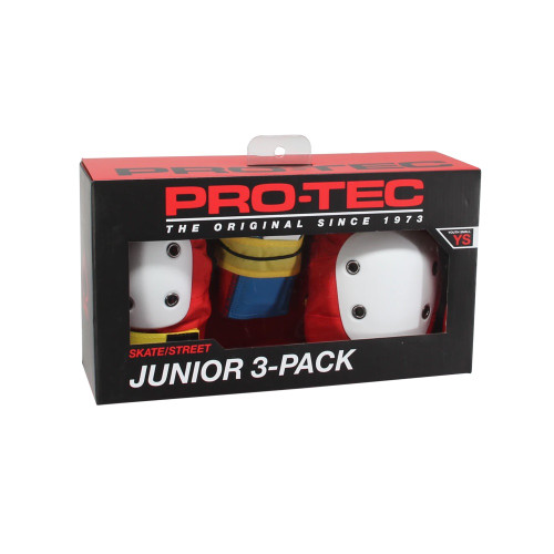 PRO TEC Street Gear Junior 3 Pack Retro