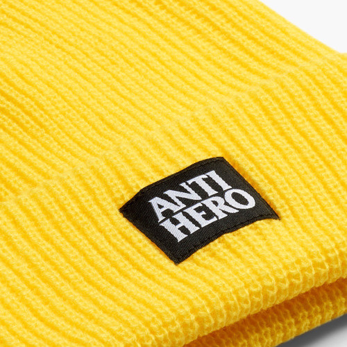 ANTI HERO Lil Blackhero Cuff Beanie Yellow